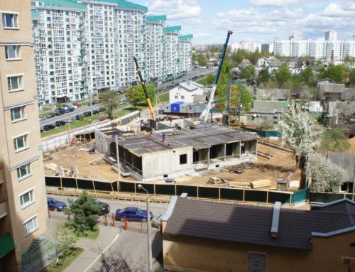 Ход строительства на 8 мая 2020 г.