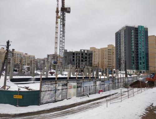 Ход строительства на 28 января 2021 г.