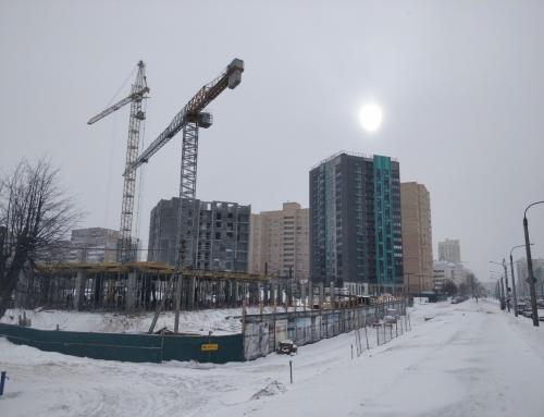 Ход строительства на 12 февраля 2021 г.
