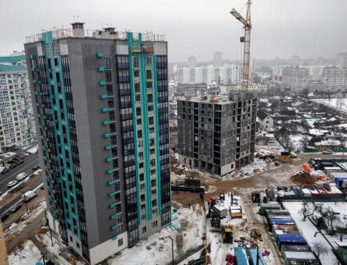 Ход строительства на 24 февраля 2021 г.