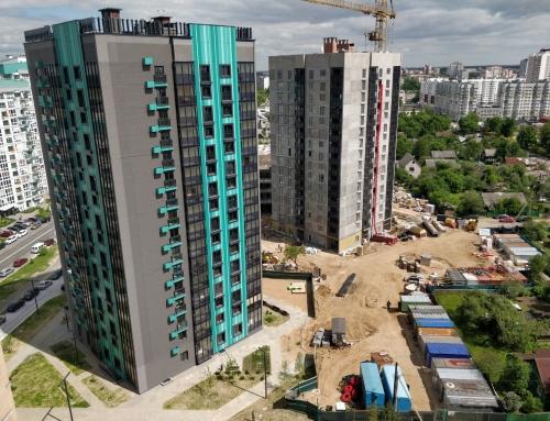 Ход строительства на 31 мая 2021 г.