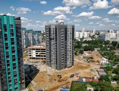 Ход строительства на 20 июля 2021 г.